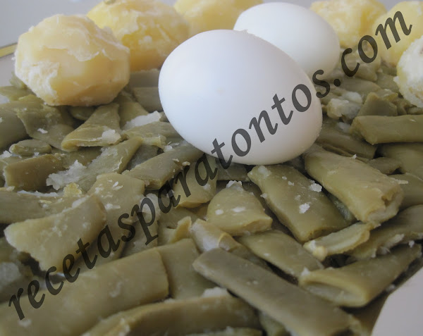 Patatas cocidas cocinar en casa es for Cocinar judias verdes de bote