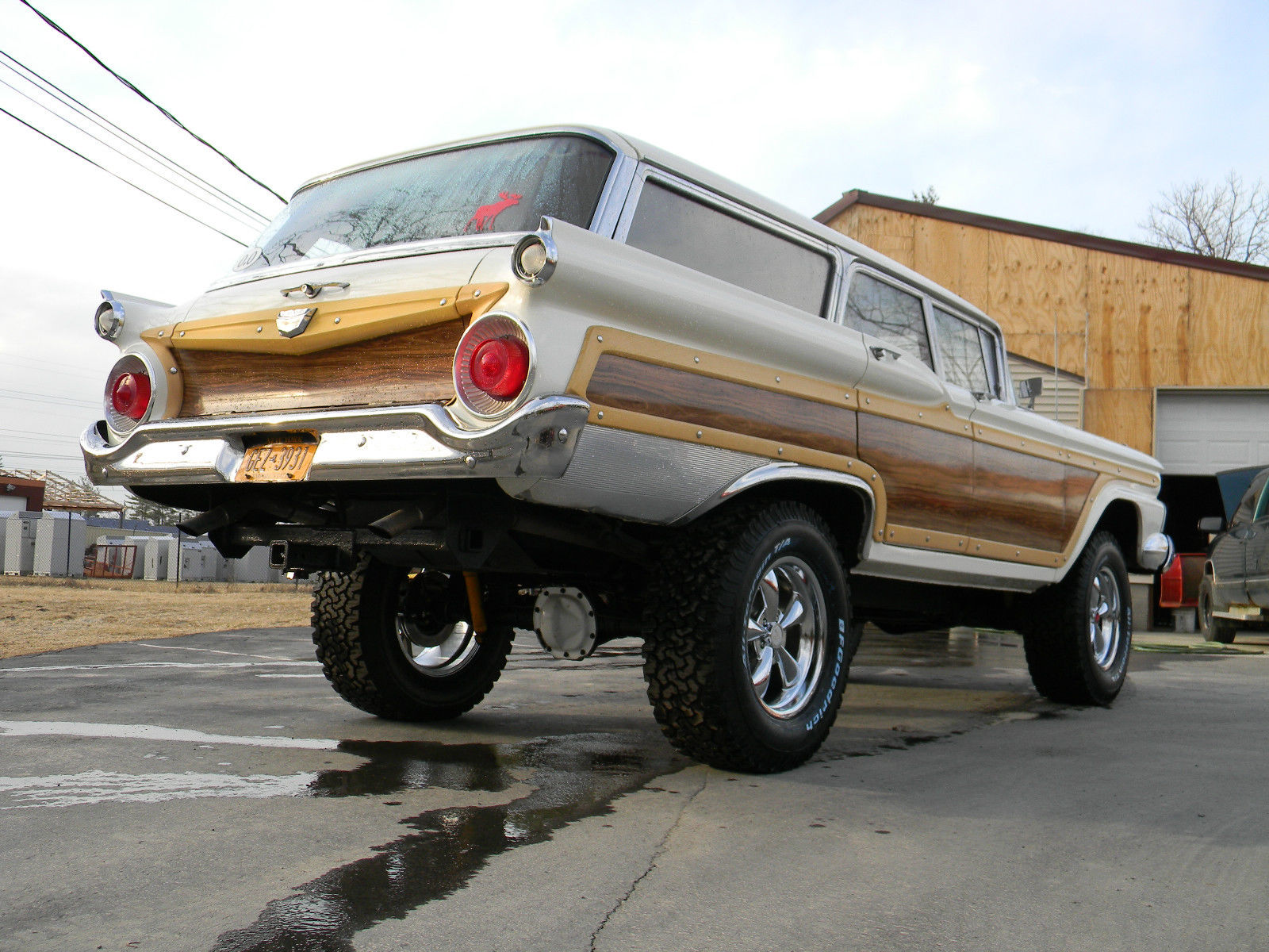 Daily turismo the only car you 39 ll ever need 1959 ford country squire 4x4