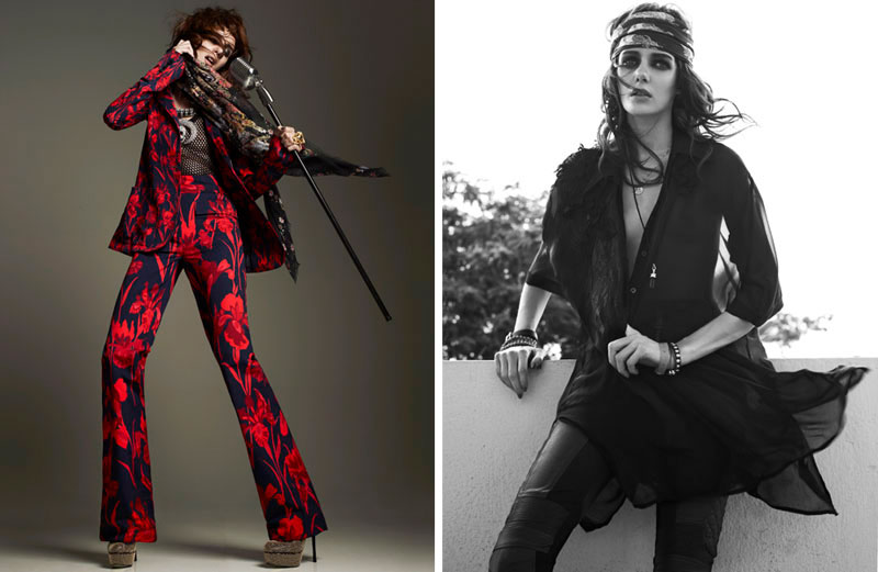 ! It Up Editoriais: That Glam Rock Style