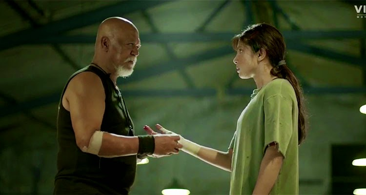 Sunil thapa acted as boxing master in marykom