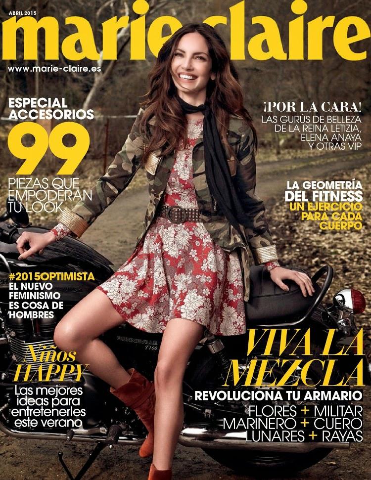 Model @ Eugenia Silva - Marie Claire Spain, April 2015
