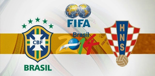 Jelang Duel Panas Brasil vs Kroasia