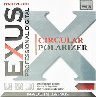 Marumi EXUS CPL filter cover