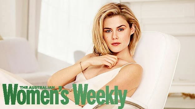 Magazine Cover : Rachael Taylor Magazine Photoshoot Pics on Women's Weekly Magazine Australia March 2014 Issue