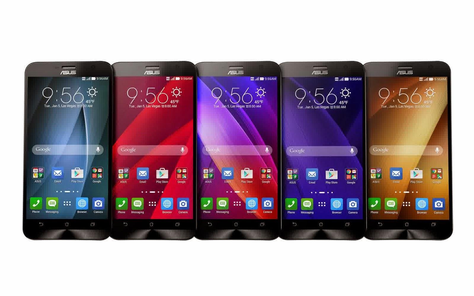 Harga Asus Zanfone 2, Smartphone Ram 4GB Pertama di Dunia2