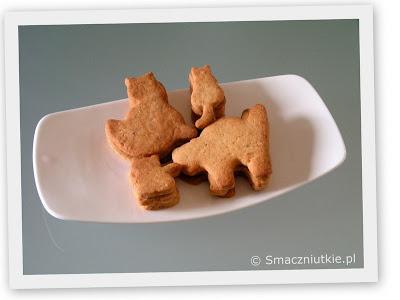 Orzechowe kotki - ciasteczka na słodki Dzień Dziecka