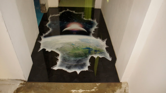 3D flooring - self leveling 3D floor designs