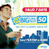 Smart Offers Big Unli Text 50 Promo, UnliText for 7 Days for P50