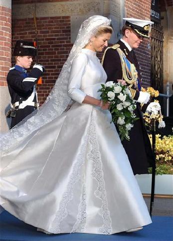 Princess maxima wedding dress
