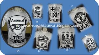 Model Kaos Motif Bola Trend 2012 Termurah