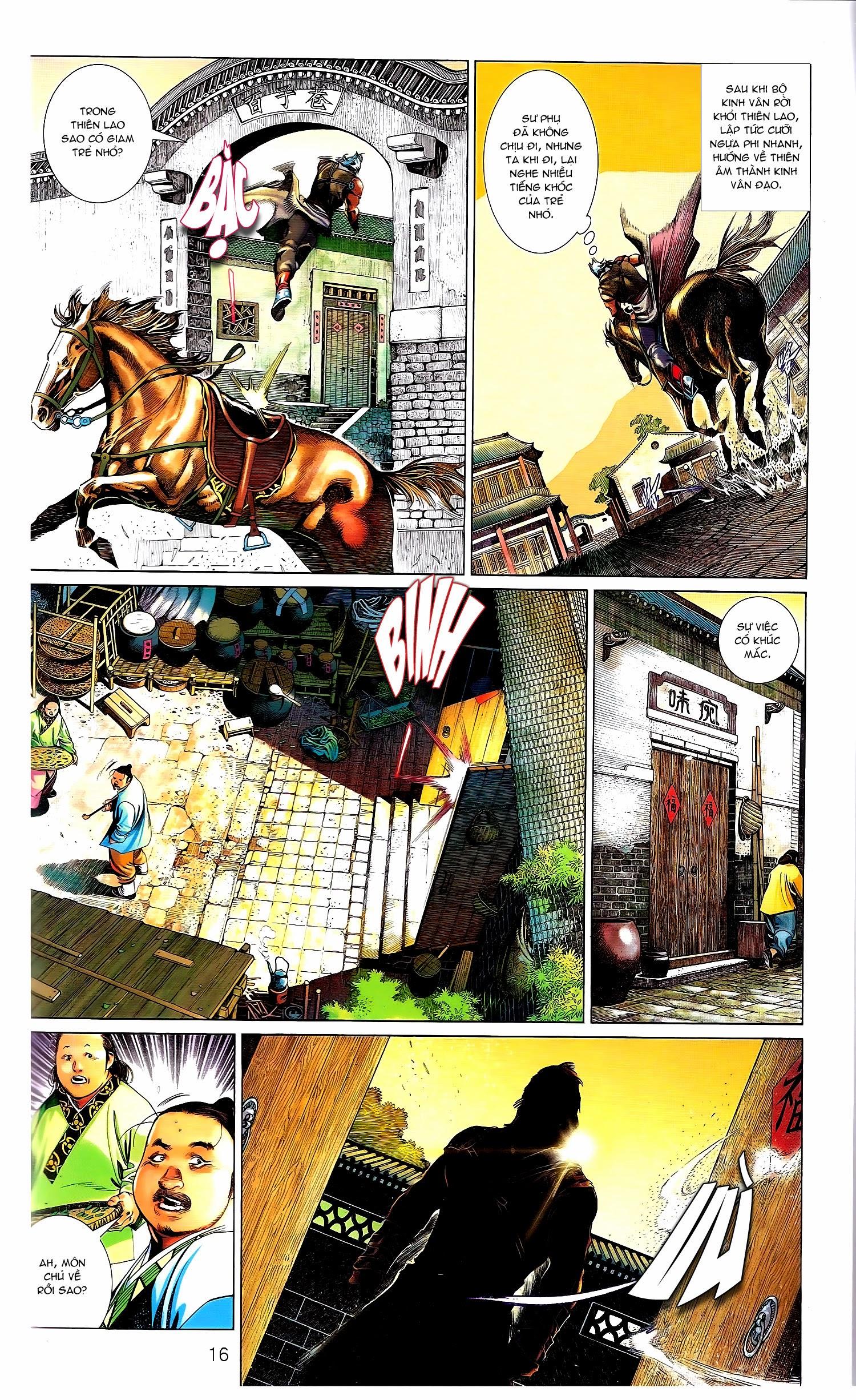 Phong Vân chap 671A Trang 16 - Mangak.info