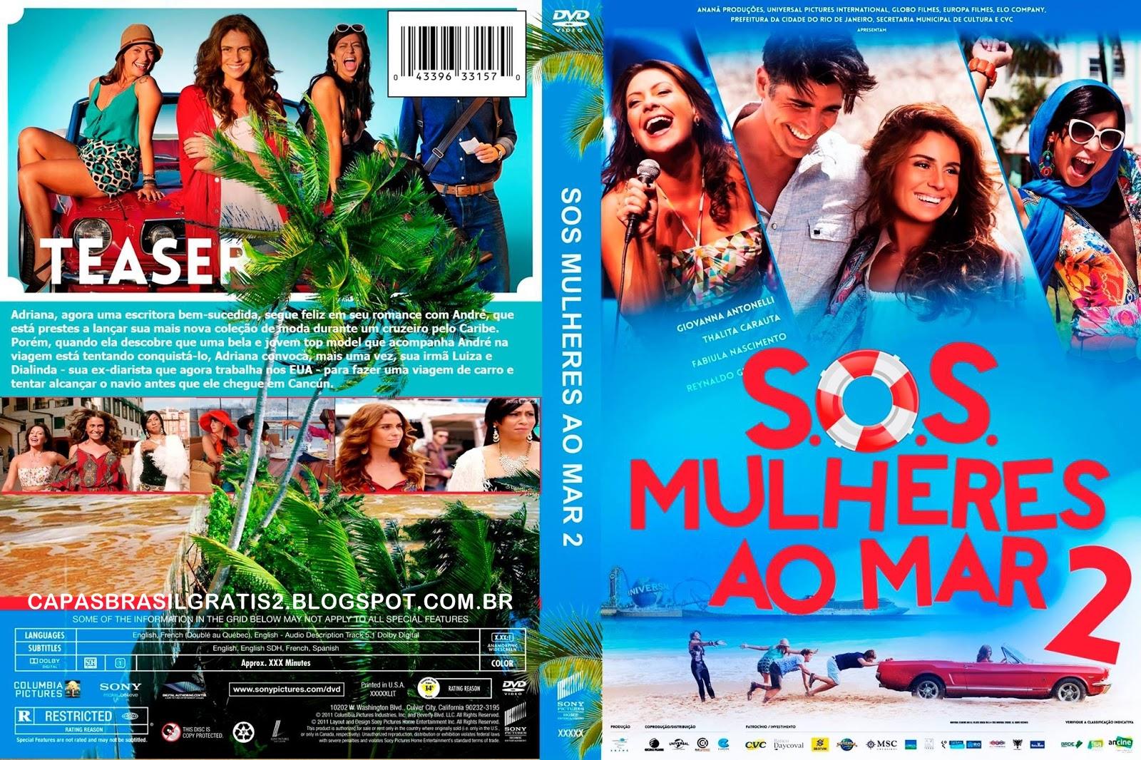 S.O.S. Mulheres ao Mar 2 DVDRip XviD Nacional S