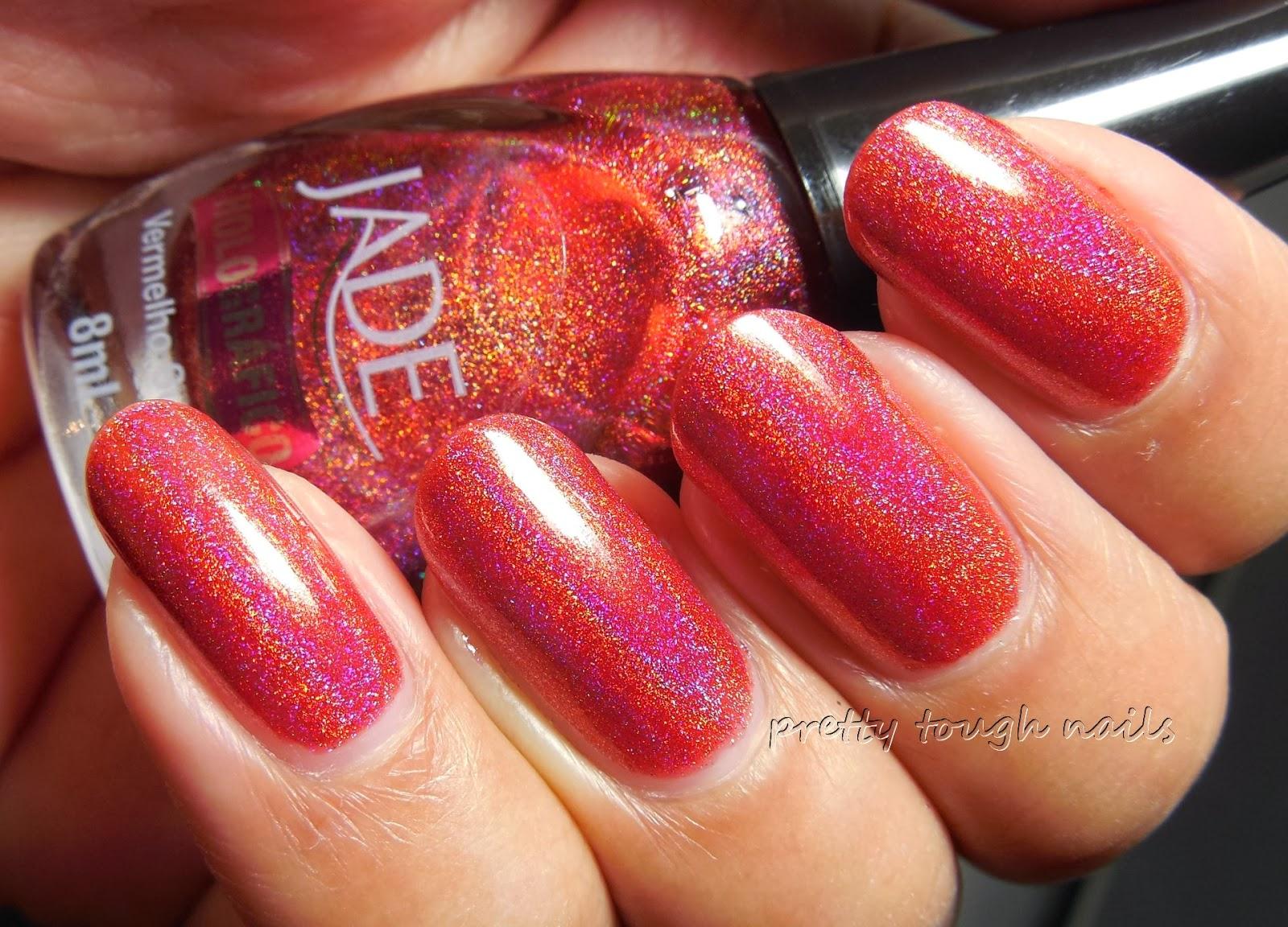 Jade Vermelho Surreal