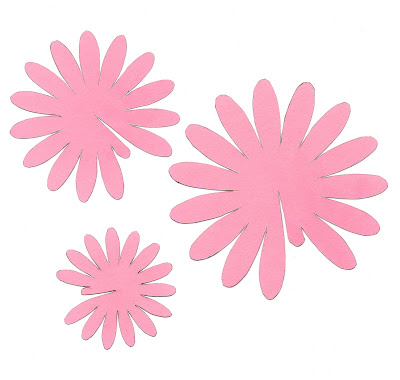 The craftinomicon paper gerbera daisies for Daisy cut out template