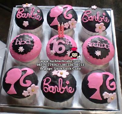 Cupcake Barbie Daerah Surabaya - Sidoarjo