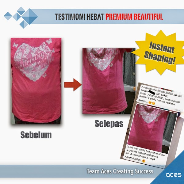 testimonial premium beautiful gives instant shaping