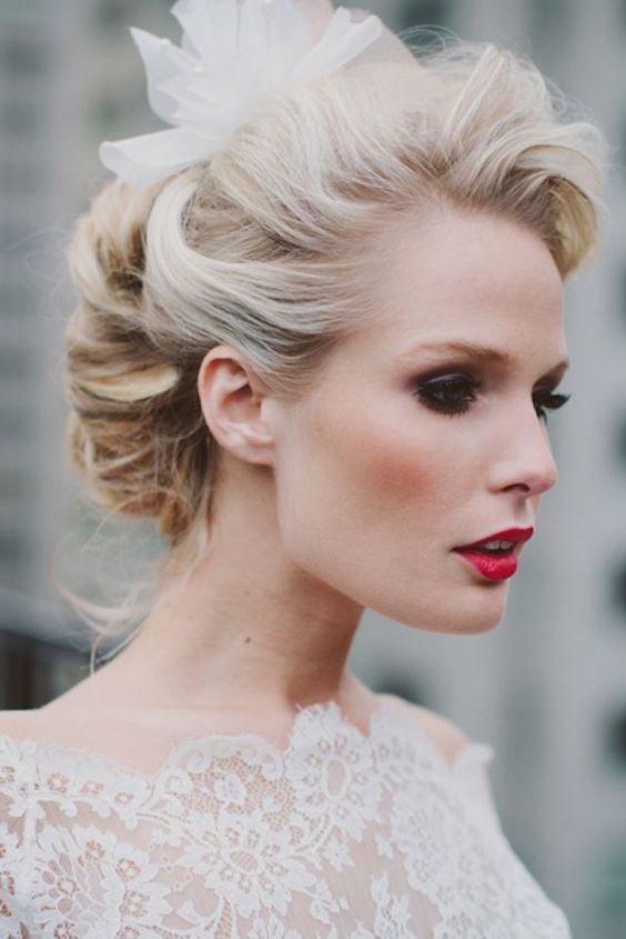 Vintage Romantic Bridal Hairstyles!