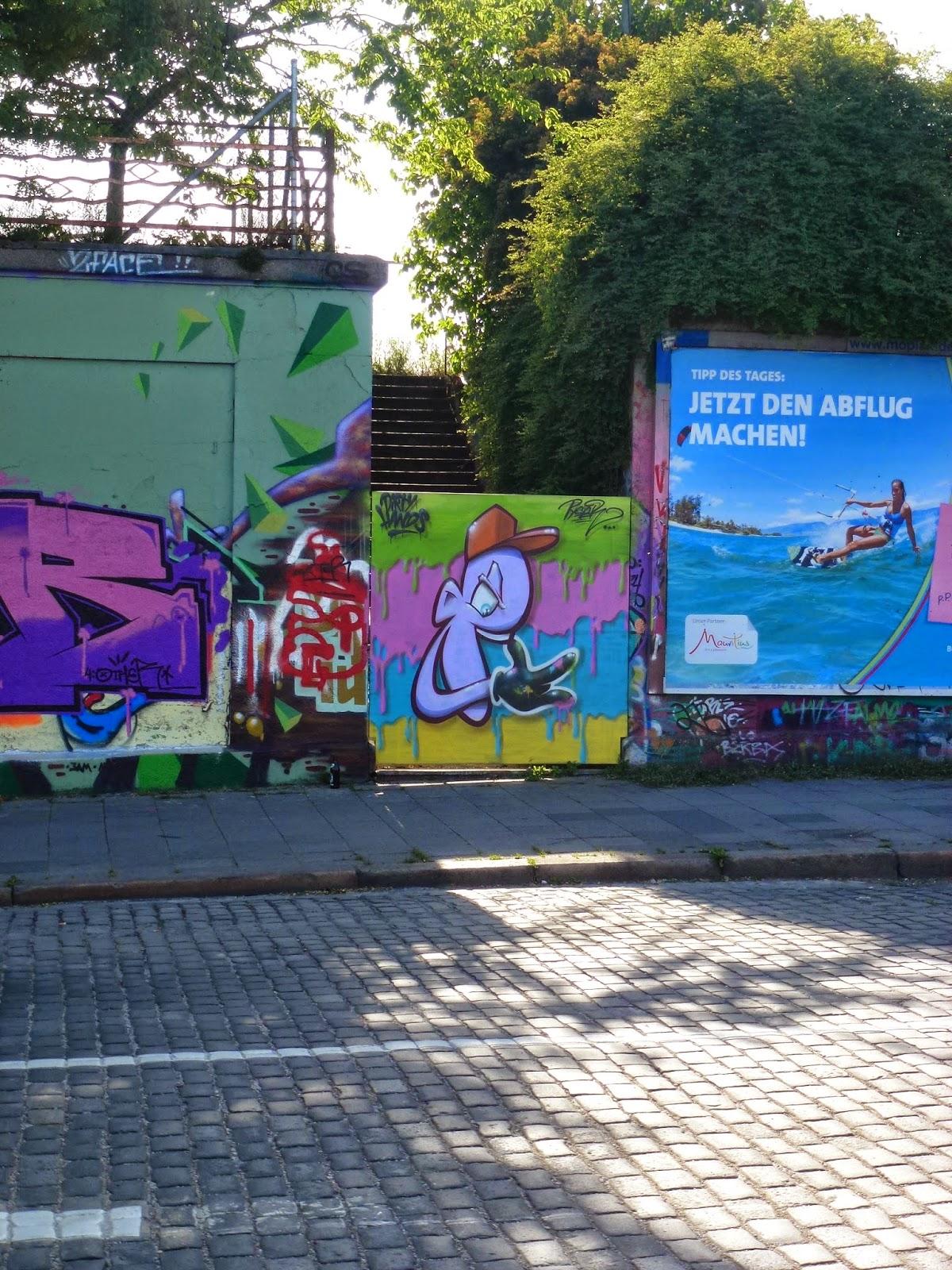 Graffiti, Streetart, Tumblingersraßet