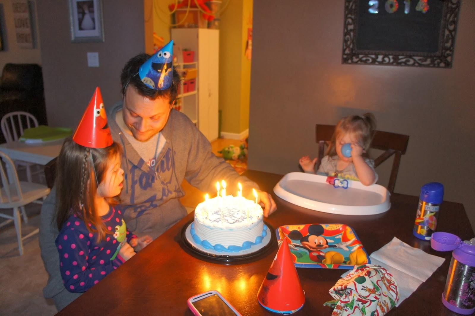 Birthday Cake With Name Zoya ~ Three little bees!: happy birthday dada!