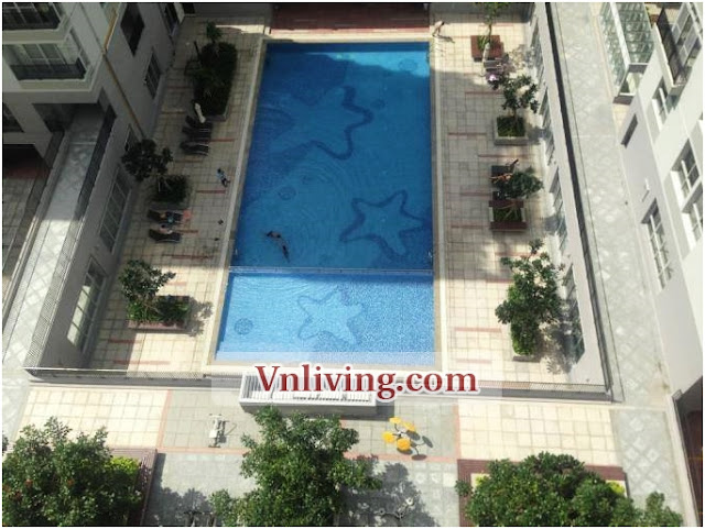 Star Hill apartment for rent 3 bedrooms furnished in District 7