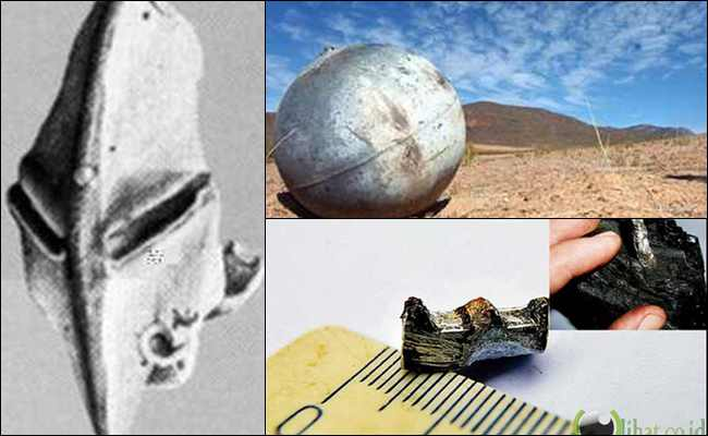 10 Artefak yang Diduga Peninggalan Alien di Dunia