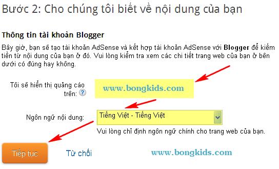 Cách tạo và đăng ký Google AdSense cho Blogspot Blogger 0