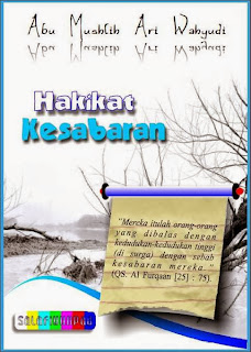 download gratis ebook hakikat kesabaran, hakikat sabar