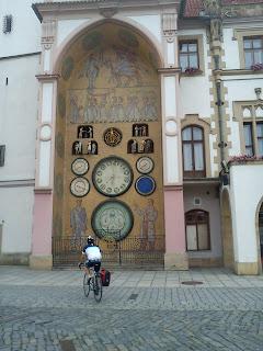 Ołumuniec (Olomouc), Czechy - zdjęcie z wyprawy rowerowej