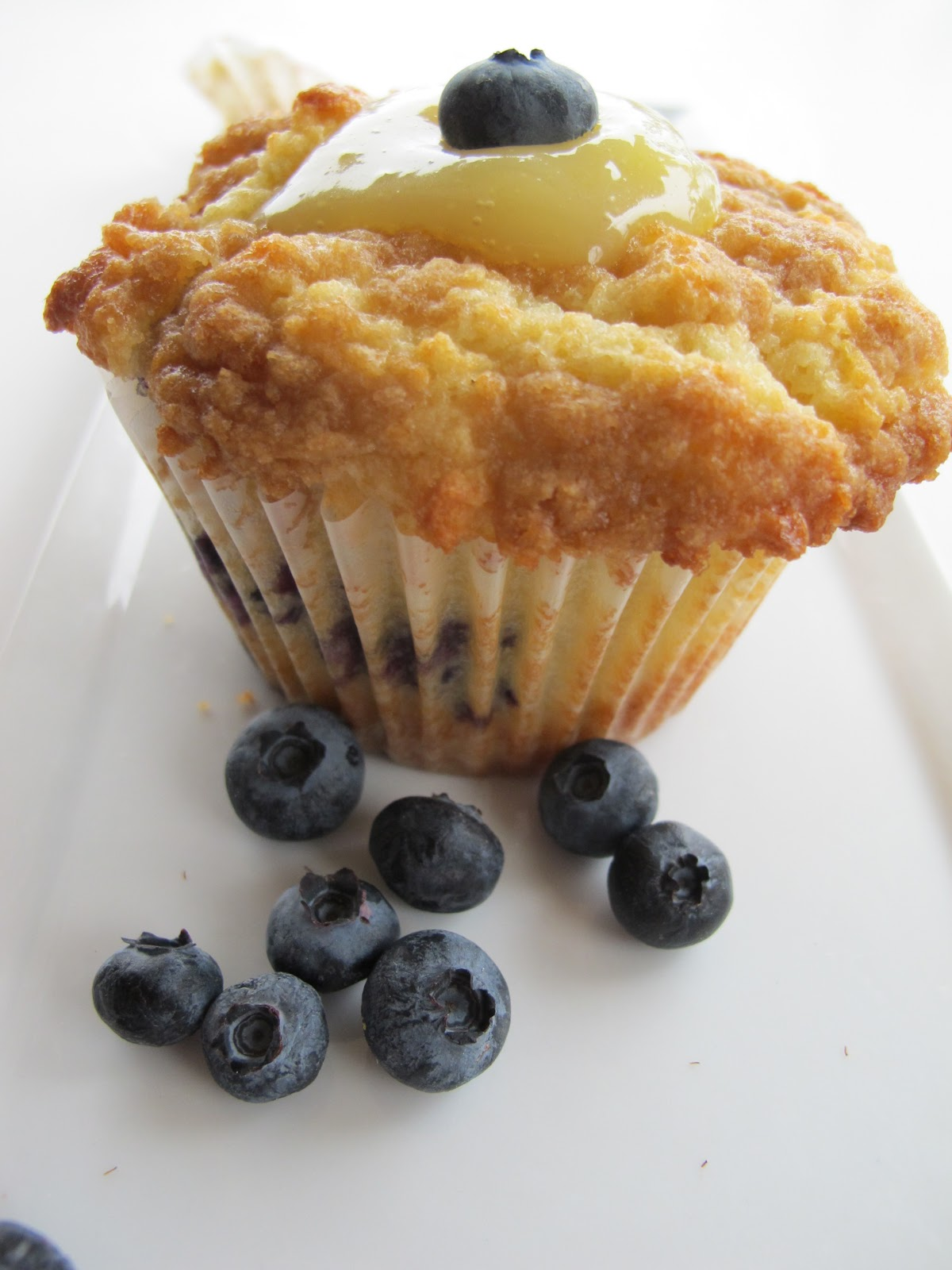 Lemon Blueberry Muffins - Purple Chocolat Home Printable Recipes