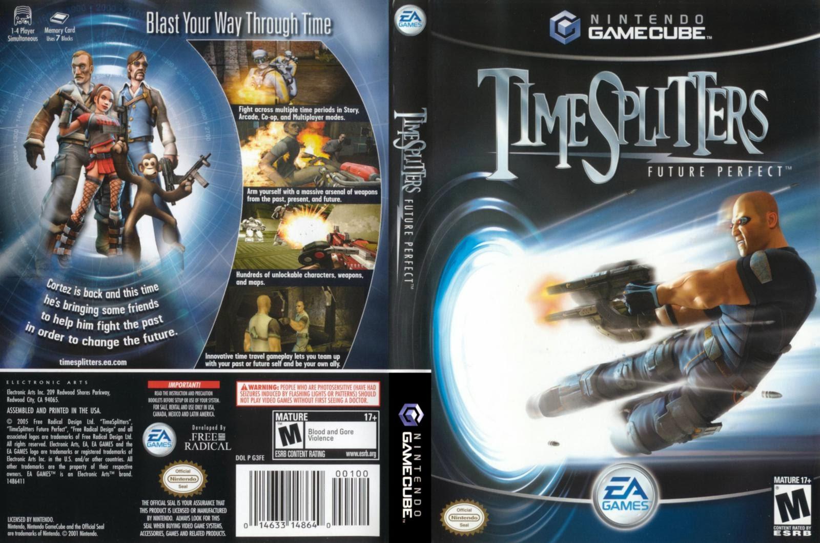Analise: TimeSplitters: Future Perfect