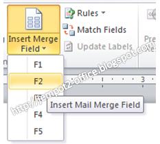 Cara Membuat Surat Undangan dengan Mailmerge