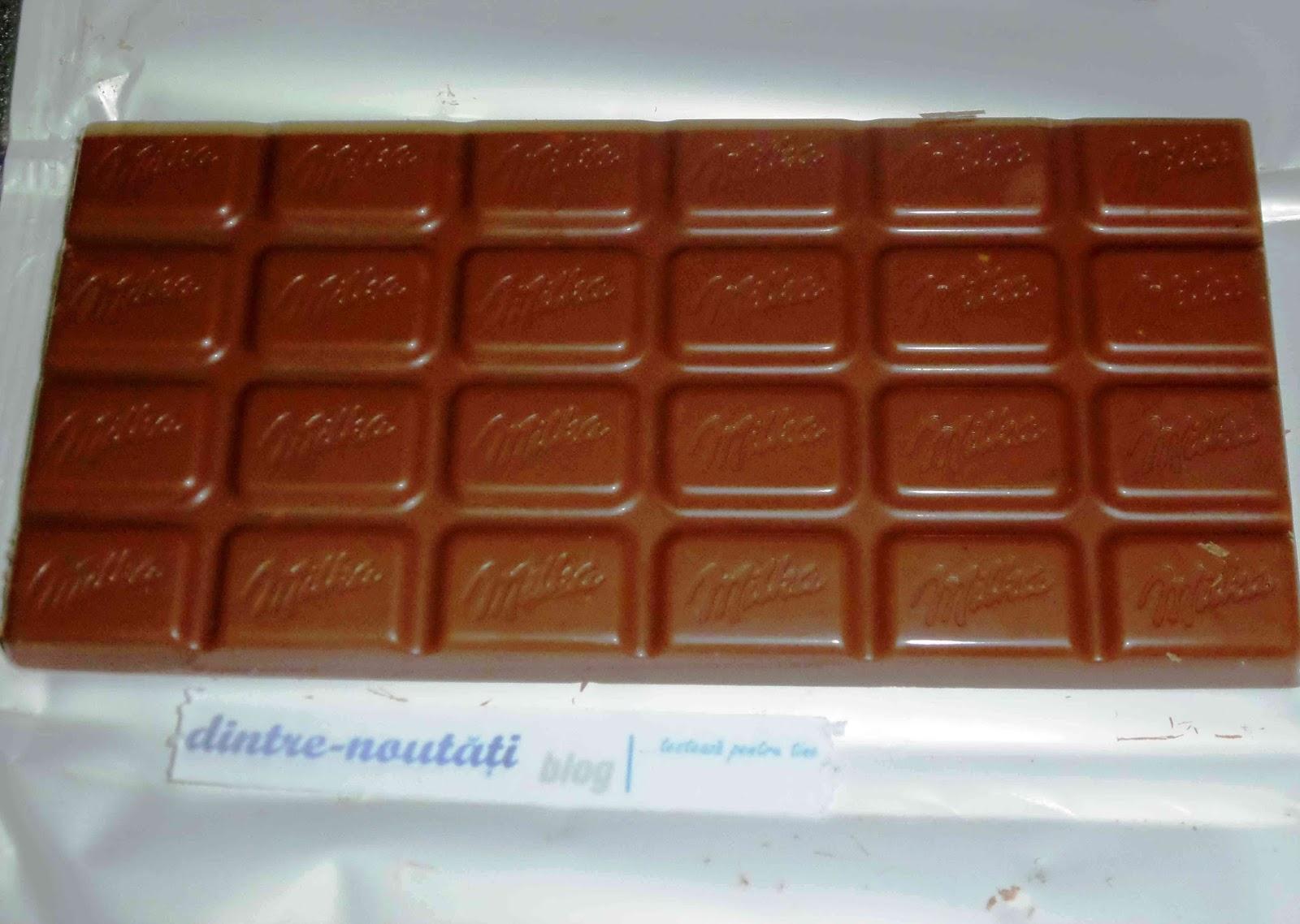Ciocolată cu lapte din Alpi cu porumb sărat crocant