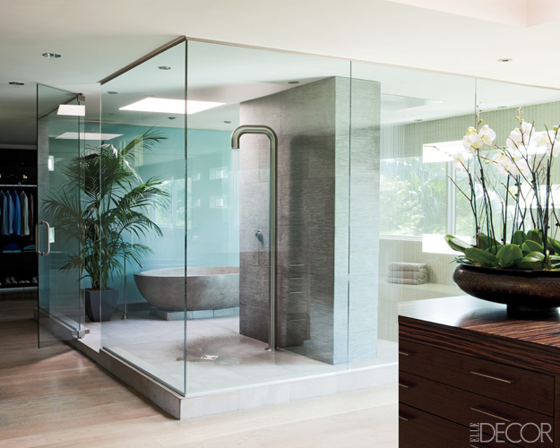 trendoffice celebrity bathrooms from elle decor