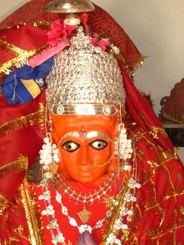 आस्था का प्रतिक ....माँ कौश्लेश्वरी देवी .....