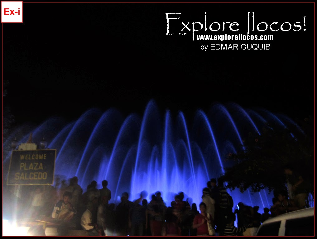 Vigan Dancing Fountain