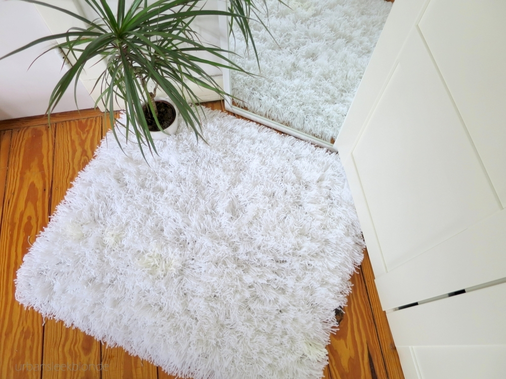 Как сделать коврик пушистый своими руками