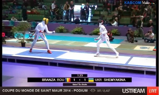 Ana Maria Branza a ajuns in semifinale