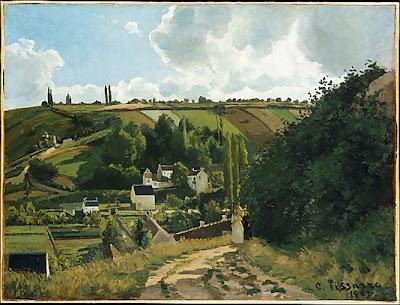 Camille Pissaro - La côte du Jallais, Pontoise,1867