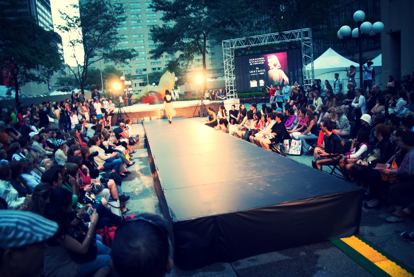 fashion show runway catwalk festival mode design Montreal Grace Kelly