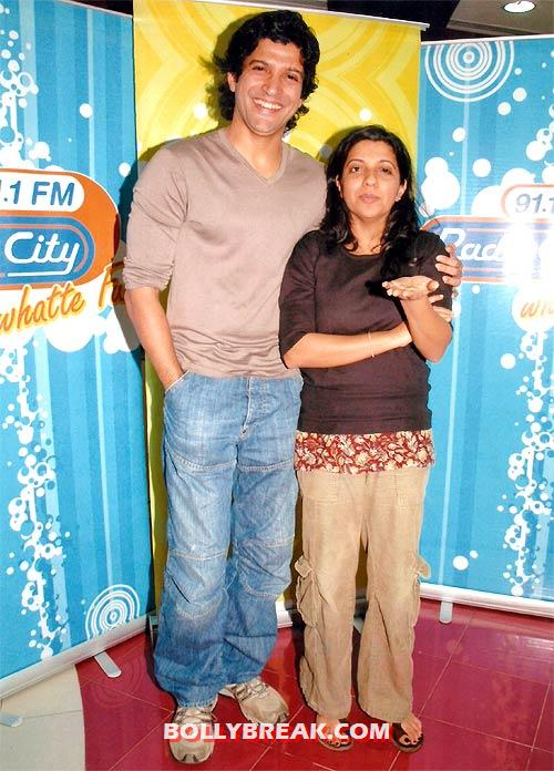 Zoya Akhtar with brother - (6) - Bollywood stars and their siblings
