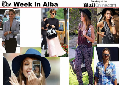 Week in ALba hot photos of Jessica Alba