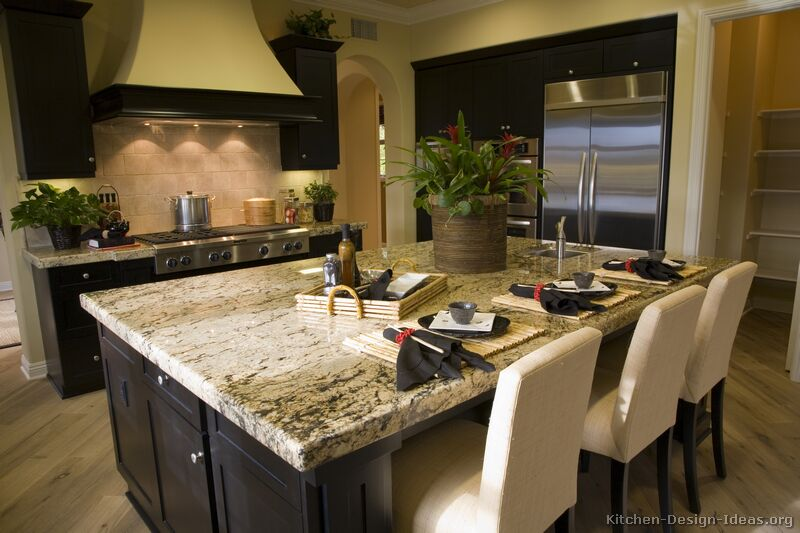 Below are some pictures of kitchens featuring Asian inspired designs