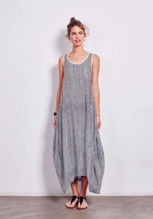 Hush Panel Maxi Dress
