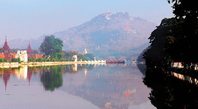 Mandalay Hill Palace and Moat