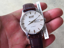TISSOT VISODATE SMOOTH WHITE SNOW FLAKE DIAL - AUTOMATIC ETA 2836-2