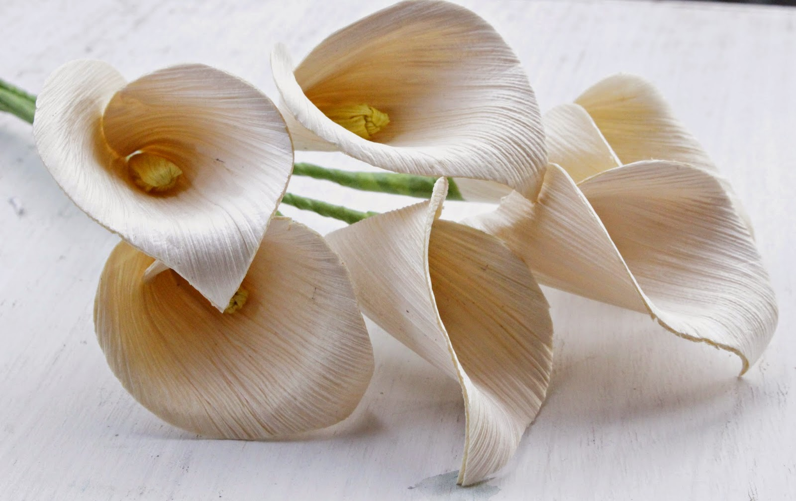 Diy how to make calla lily flowers using dried corn husks reduce diy how to make calla lily flowers using dried corn husks reduce reuse recycle replenish restore izmirmasajfo Image collections