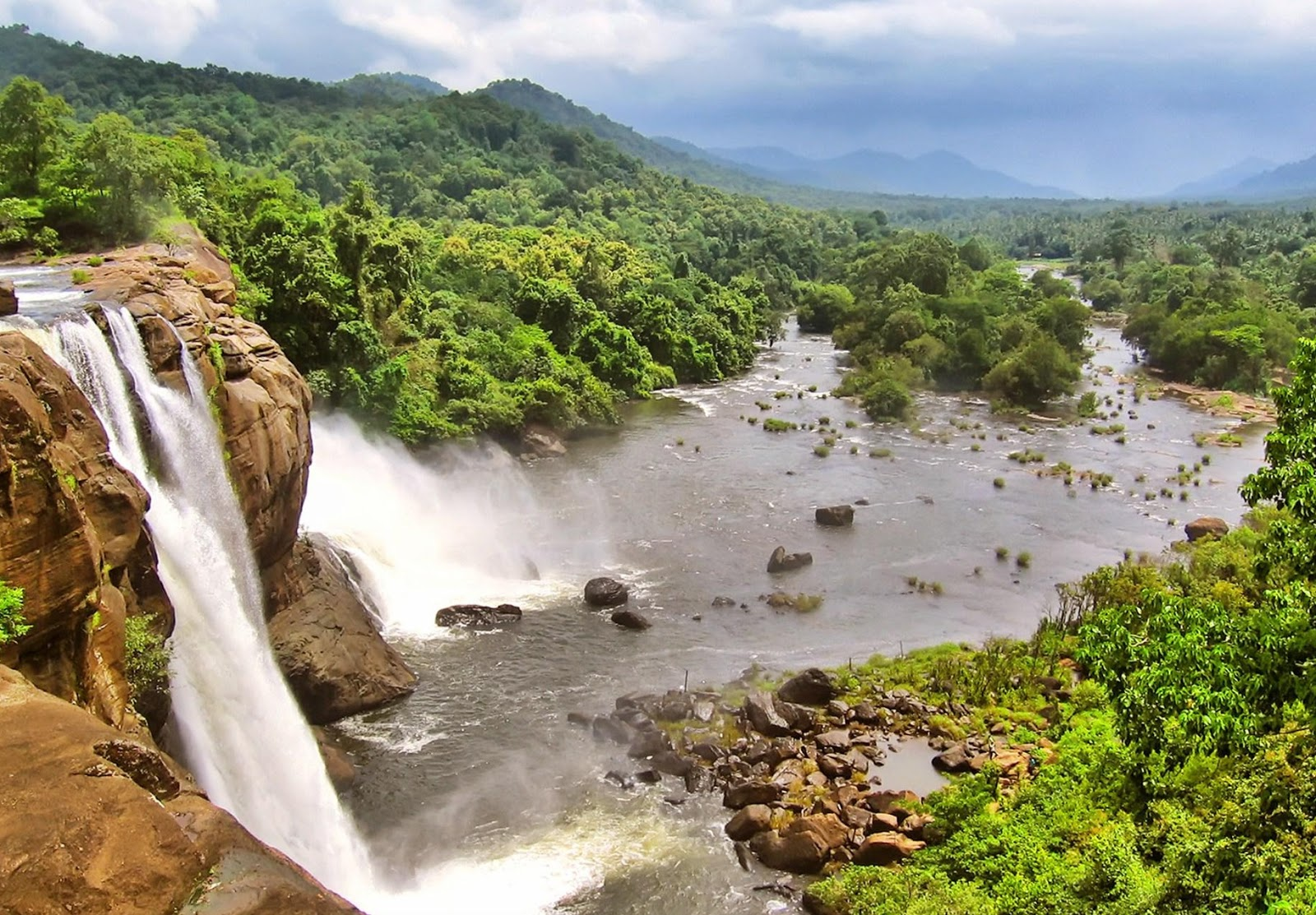 Athirapally India  city photos : ATHIRAPALLY WATERFALLS | BEST WATERFALLS IN KERALA | SUREN CHELLAKUTTI ...