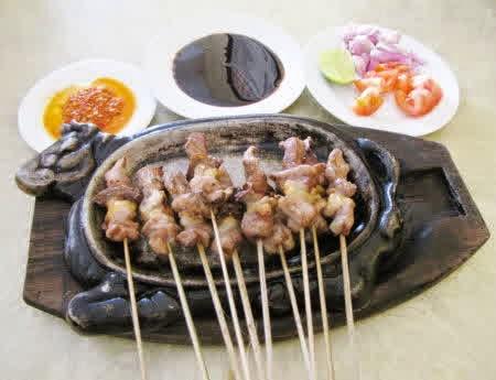 Resep Sate Kambing Hot Plate
