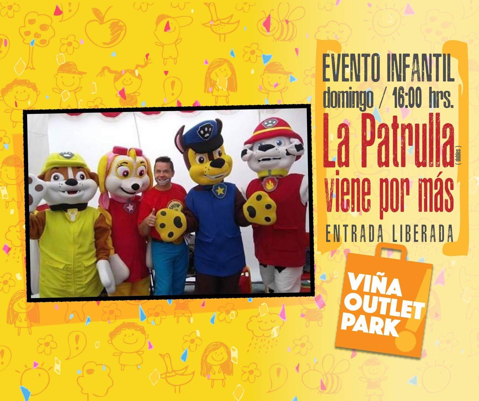 Show tío Marcelo & los dobles de Paw Patrol