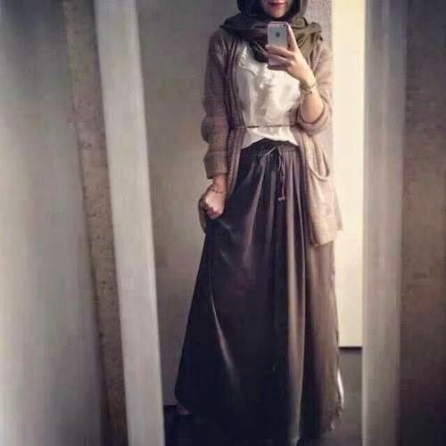 Tenue hijab style